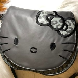 Hello Kitty Gray Medium size Purse for Loungefly
